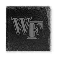 Wake Forest Demon Deacons Slate Coasters - Set of 4