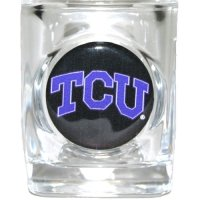 Tcu Horned Frogs Shot Glass - Square 2oz