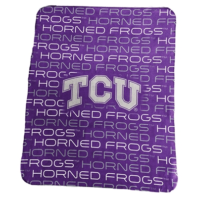 Tcu Horned Frogs Classic Fleece Blanket
