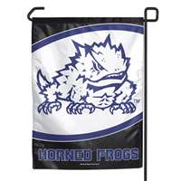 "Tcu Horned Frogs Garden Flag By Wincraft 11"" X 15"""