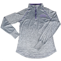TCU Horned Frogs Women's Colosseum Bikram 1/4 Zip Jacket