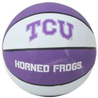 TCU Horned Frogs Mini Rubber Basketball