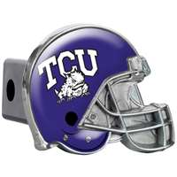 TCU Horned Frogs Trailer Hitch Receiver Cover - Helmet