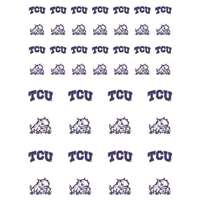 TCU Horned Frogs Small Sticker Sheet - 2 Sheets