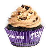 TCU Horned Frogs Cupcake Liners - 36 Pack