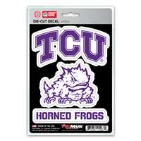 TCU Horned Frogs Decals - 3 Pack