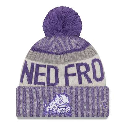 TCU Horned Frogs Youth New Era Sport Knit Beanie