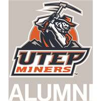 Texas El Paso Miners Transfer Decal - Alumni