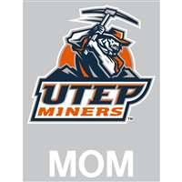 Texas El Paso Miners Transfer Decal - Mom