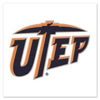 UTEP Miners Temporary Tattoo - 4 Pack