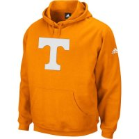 Adidas Tennessee Volunteers Playbook Fleece Hooded Sweatshirt - Orange