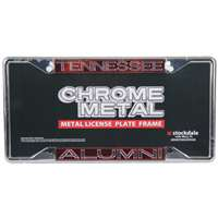 Tennessee Volunteers Metal Alumni Inlaid Acrylic License Plate Frame