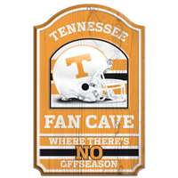 Tennessee Volunteers Fan Cave Wood Sign