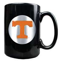 Tennessee Volunteers 15oz Black Ceramic Mug