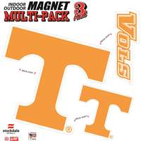 Tennessee Volunteers Auto Magnet Multi-Pack