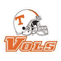 "Tennessee Volunteers 4"" x 4"" Transfer Decal - Helmet"