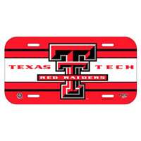 Texas Tech Raiders Plastic License Plate