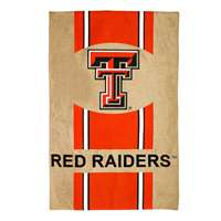 "Texas Tech Red Raiders Burlap Flag - 28"" x 44"""