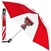 Texas Tech Red Raiders Umbrella - Auto Folding