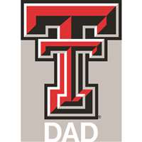 Texas Tech Red Raiders Transfer Decal - Dad