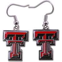 Texas Tech Red Raiders Dangler Earrings