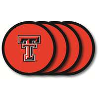 Texas Tech Red Raiders Coaster Set - 4 Pack