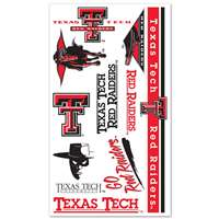 Texas Tech Red Raiders Temporary Tattoos