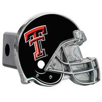 Texas Tech Red Raiders Trailer Hitch Receiver Cover - Helmet