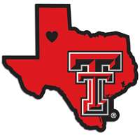Texas Tech Raiders Home State Decal