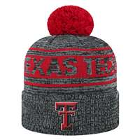 Texas Tech Red Raiders Top of the World Sock It 2 Me Knit Beanie