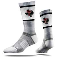 Texas Tech Red Raiders Strideline Premium Crew Sock - Grey