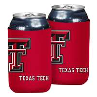 Texas Tech Red Raiders Oversized Logo Flat Coozie