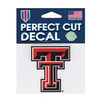 Texas Tech Red Raiders Perfect Cut Decal