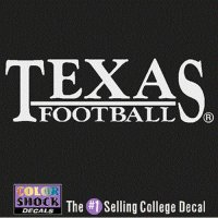 Texas Longhorns Decal - Texas Over Football