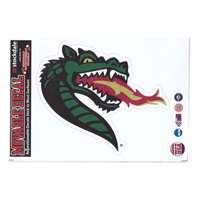 UAB Blazers Repositionable Vinyl Decal