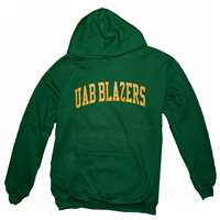 Alabama Birmingham Hooded Sweatshirt, Forest