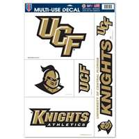 Central Florida Knights Ultra Decal Set - 11'' X 17''
