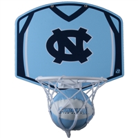 North Carolina Mini Basketball And Hoop Set