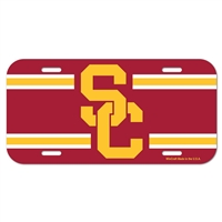 Usc License Plate