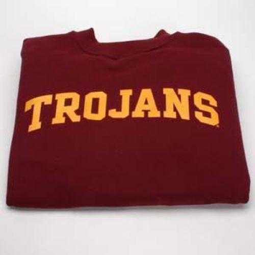 new products 040a4 48c5c Usc Trojans Sweatshirt - Crewneck, Cardinal
