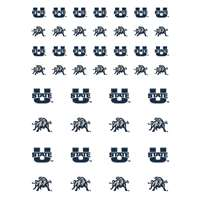 Utah State Aggies Small Sticker Sheet - 2 Sheets