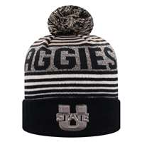 Utah State Aggies Top of the World Overt Cuff Knit Beanie
