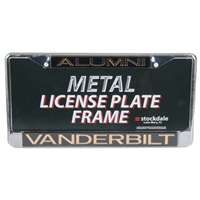 Vanderbilt Commodores Metal Alumni Inlaid Acrylic License Plate Frame