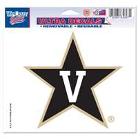 "Vanderbilt Commodores Ultra Decal 5"" x 6"""