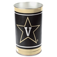 Vanderbilt Commodores Metal Wastebasket