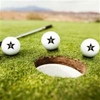 Vanderbilt Commodores Golf Balls - Set of 3