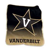 Vanderbilt Commodores Raschel Throw Blanket - Fade