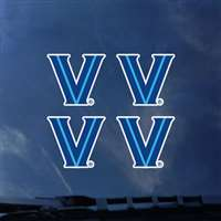 Villanova Wildcats Transfer Decals - Set of 4