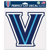 "Villanova Wildcats Full Color Die Cut Decal - 8"" X 8"""