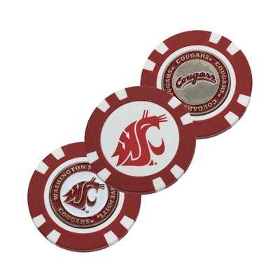 Washington State Cougars Golf Poker Chip